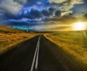 Красивая картинка для нокиа n70 с видом дороги